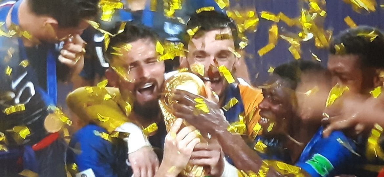 Siegesfeier WM-Finale 2018